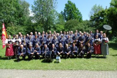 Gruppenbild der MG Wasen am Bernisch-Kantonalen in Thun 2019.