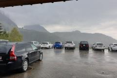 Es regnet nicht, es «schiffet»,