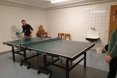 Ping-Pong bis tief in die Nacht.